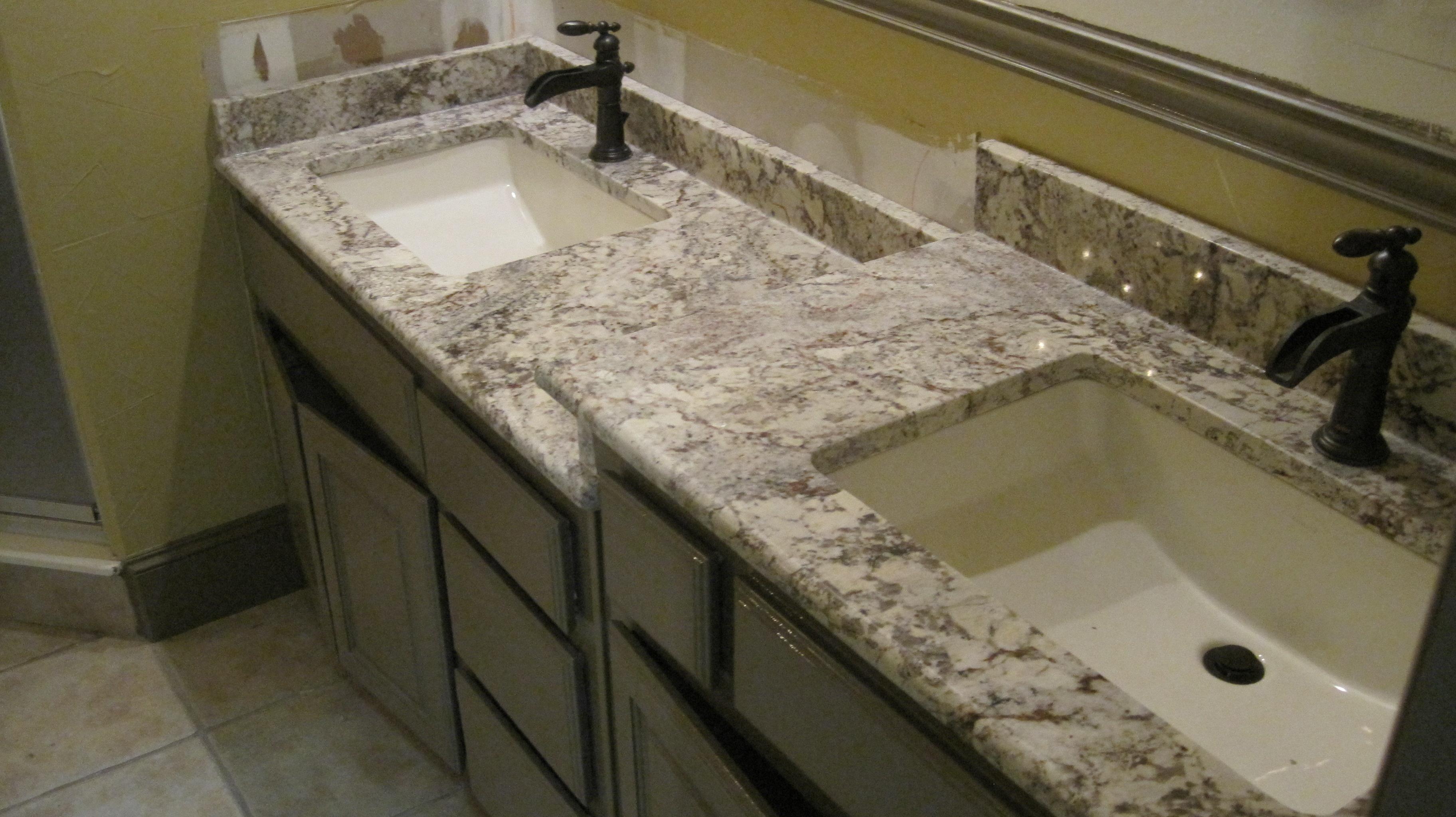 Charmant Granite Countertops, Kitchen Island, Bathroom Vanity  Bathroomcounter 149x149 Bahtroom Vanity, Bath Counter