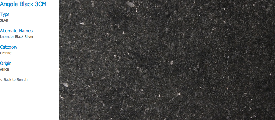 Granite Countertops, Kitchen Island, Bathroom Vanity angola-black Granite Colors