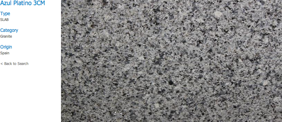 Granite Countertops, Kitchen Island, Bathroom Vanity azul-platino Granite Colors