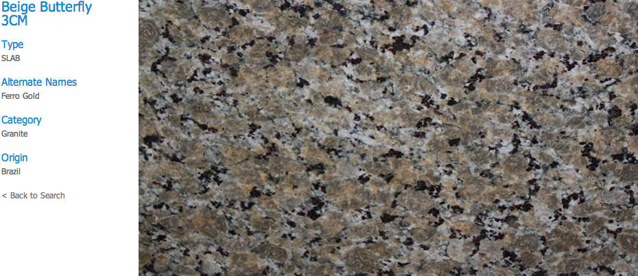 Granite Countertops, Kitchen Island, Bathroom Vanity baltic-brown Granite Colors