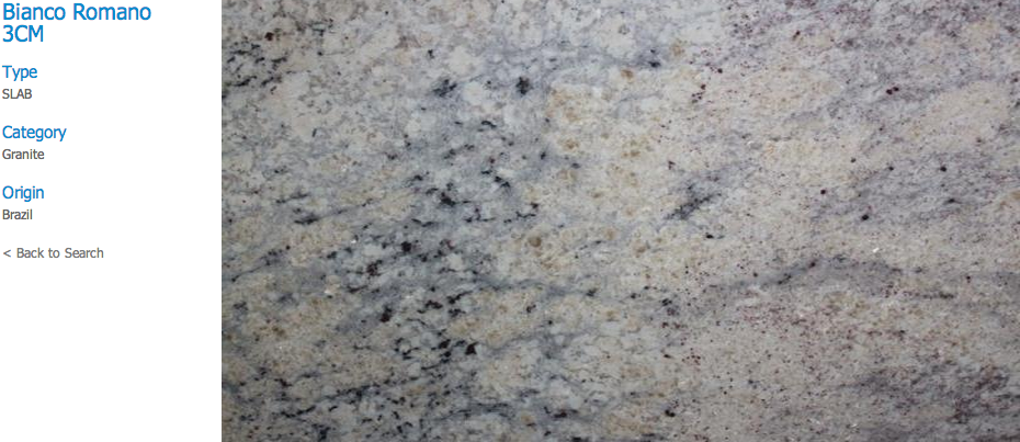 Granite Countertops, Kitchen Island, Bathroom Vanity bianco-romano Granite Colors