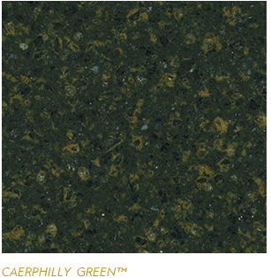 Granite Countertops, Kitchen Island, Bathroom Vanity caerphilly-green Cambria Colors