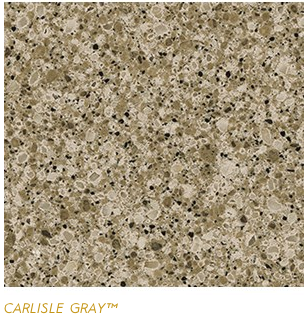 Granite Countertops, Kitchen Island, Bathroom Vanity carlisle-gray Cambria Colors