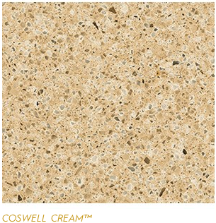 Granite Countertops, Kitchen Island, Bathroom Vanity coswell-cream Cambria Colors