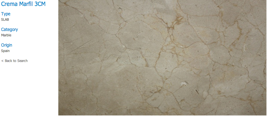 Granite Countertops, Kitchen Island, Bathroom Vanity crema-marfi Marble Colors