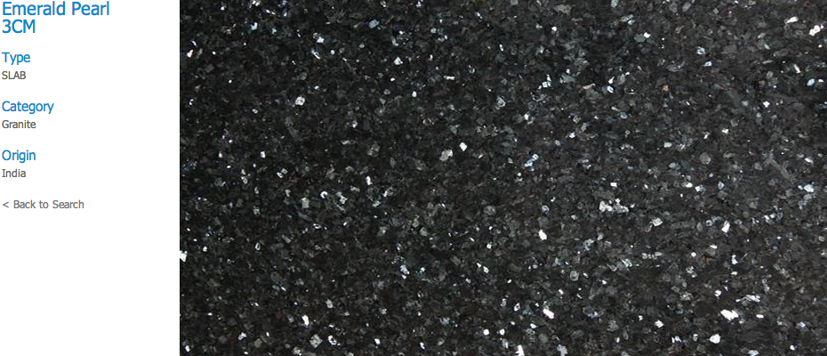 Granite Countertops, Kitchen Island, Bathroom Vanity emerald-pearl Granite Colors