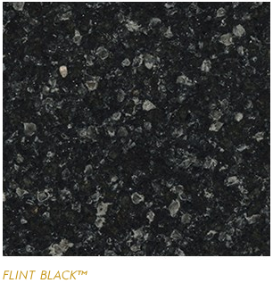 Granite Countertops, Kitchen Island, Bathroom Vanity flint-black Cambria Colors