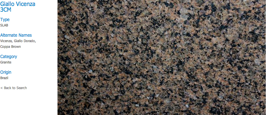Granite Countertops, Kitchen Island, Bathroom Vanity giallo-vicenza Granite Colors
