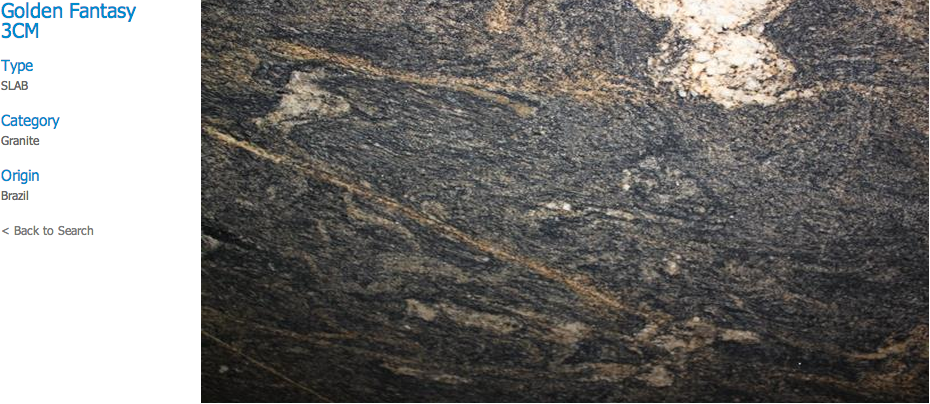 Granite Countertops, Kitchen Island, Bathroom Vanity golden-fantasy Granite Colors