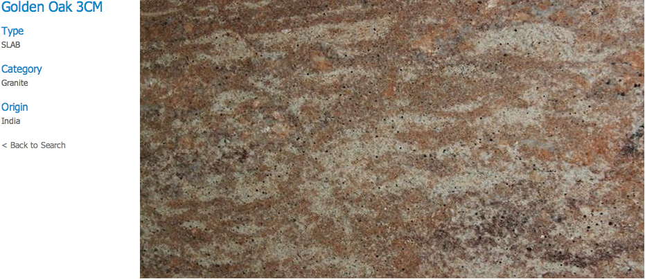 Granite Countertops, Kitchen Island, Bathroom Vanity golden-oak Granite Colors