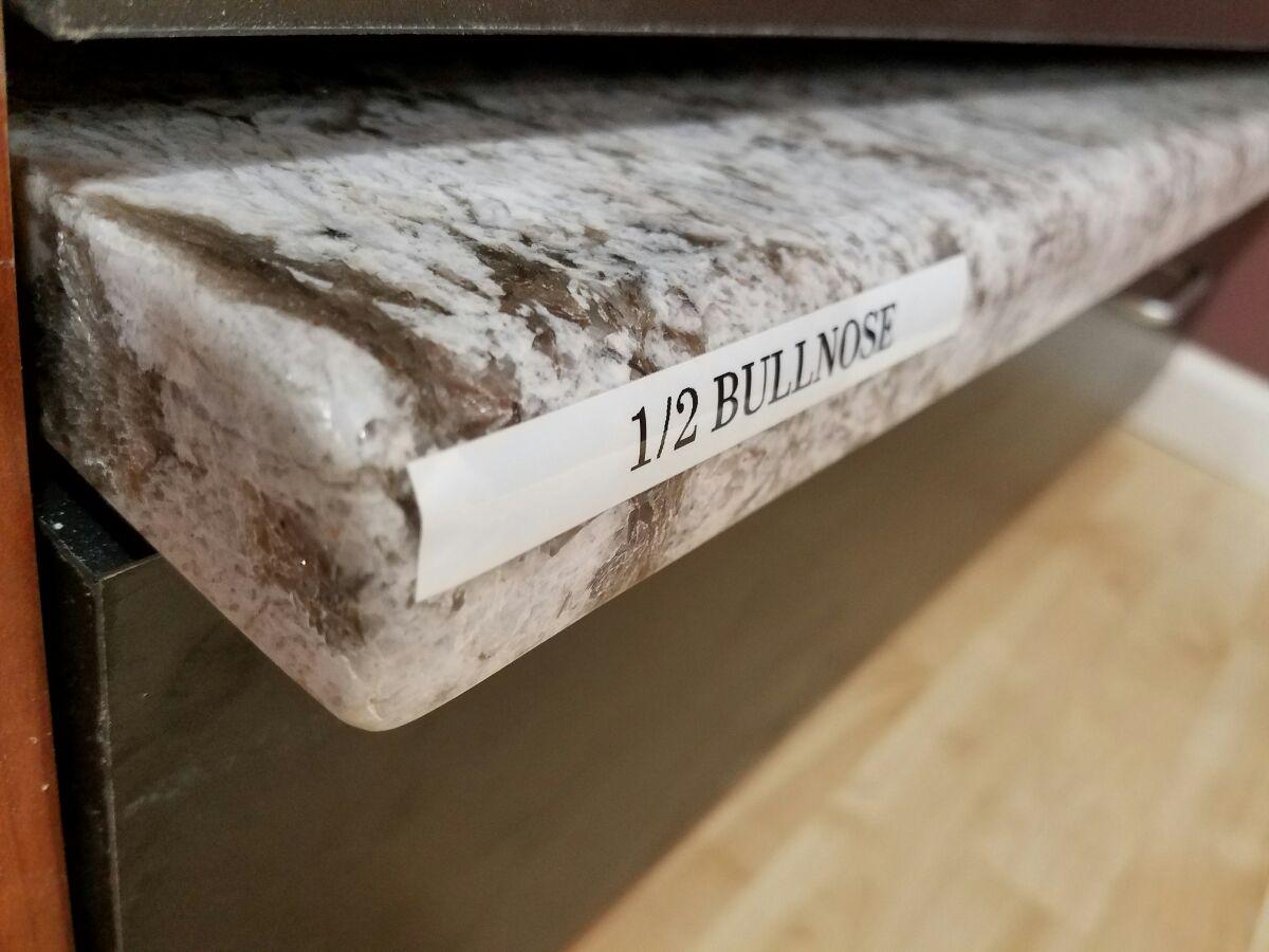 Granite Countertops Kitchen Island Bathroom Vanity Half Bullnose Edge 300x225