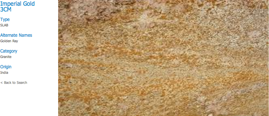Granite Countertops, Kitchen Island, Bathroom Vanity imperial-gold Granite Colors