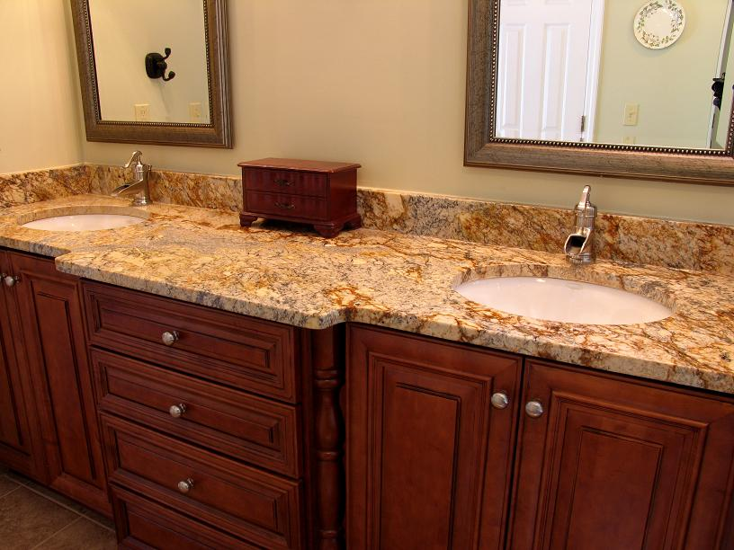 Granite Countertops, Kitchen Island, Bathroom Vanity inspirational-granite- countertops-wood-