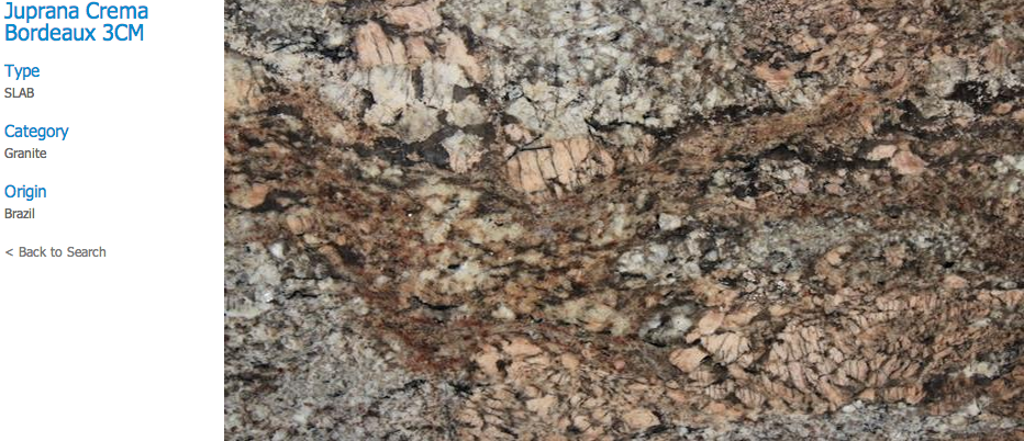 Granite Countertops, Kitchen Island, Bathroom Vanity juprana-crema Granite Colors