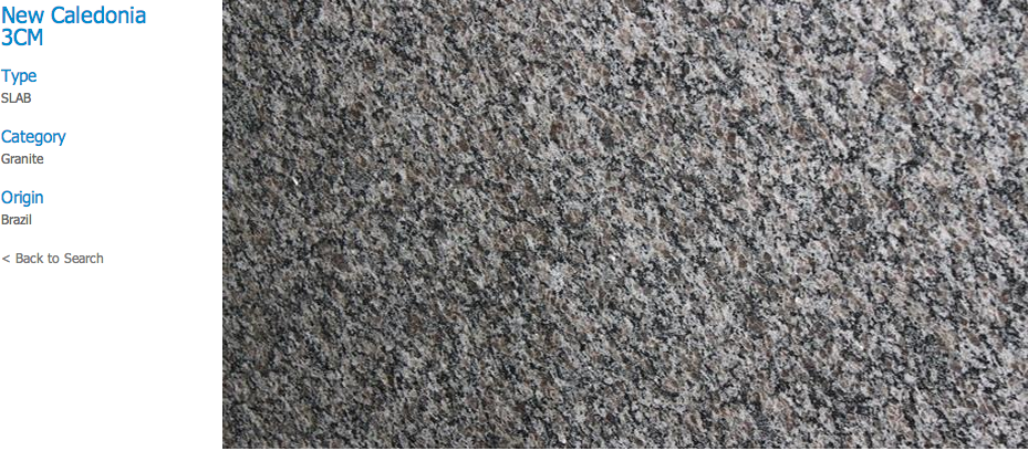 Granite Countertops, Kitchen Island, Bathroom Vanity new-caledonia Granite Colors
