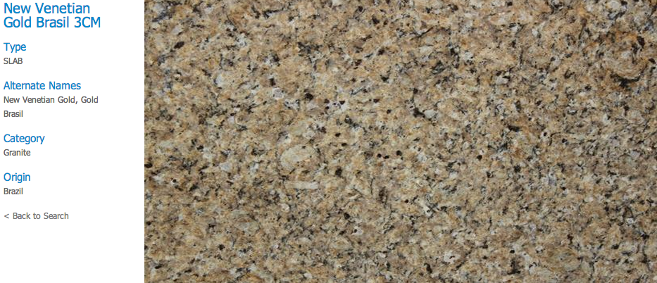 Granite Countertops, Kitchen Island, Bathroom Vanity new-venetian-gold-brasil Granite Colors