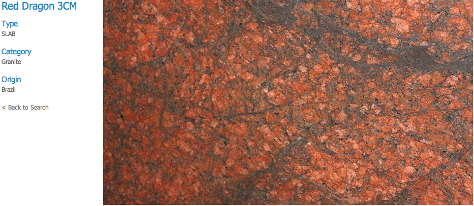 Granite Countertops, Kitchen Island, Bathroom Vanity red-dragon Granite Colors