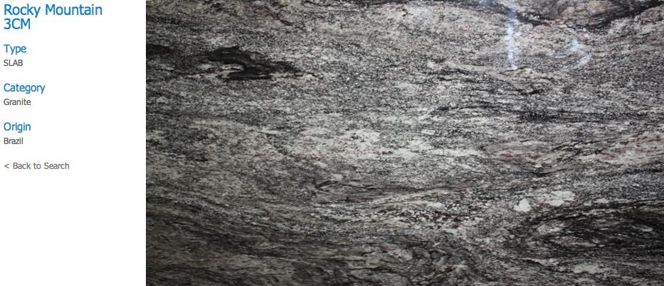 Granite Countertops, Kitchen Island, Bathroom Vanity rocky-mountain Granite Colors