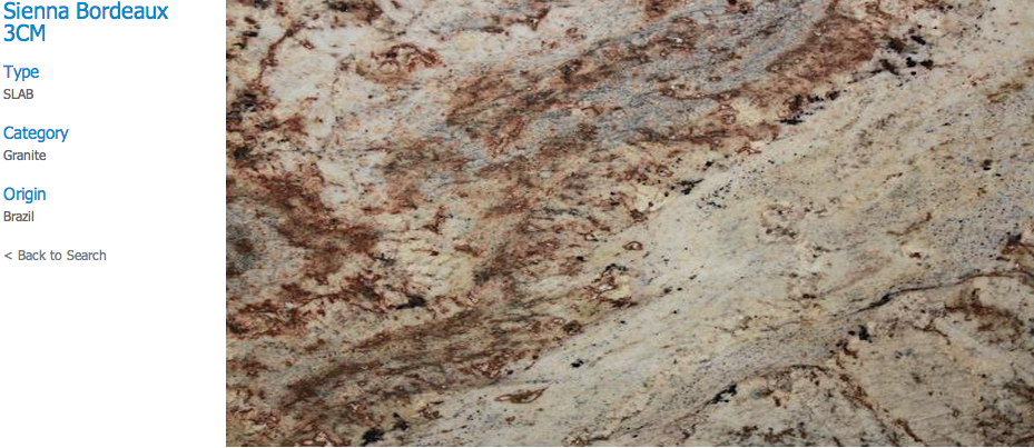 Granite Countertops, Kitchen Island, Bathroom Vanity sienna-bordeaux Granite Colors