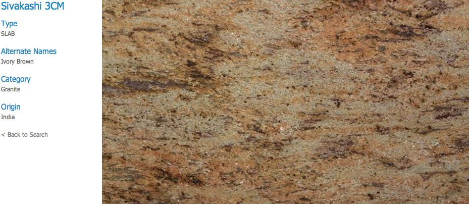 Granite Countertops, Kitchen Island, Bathroom Vanity sivakashi Granite Colors