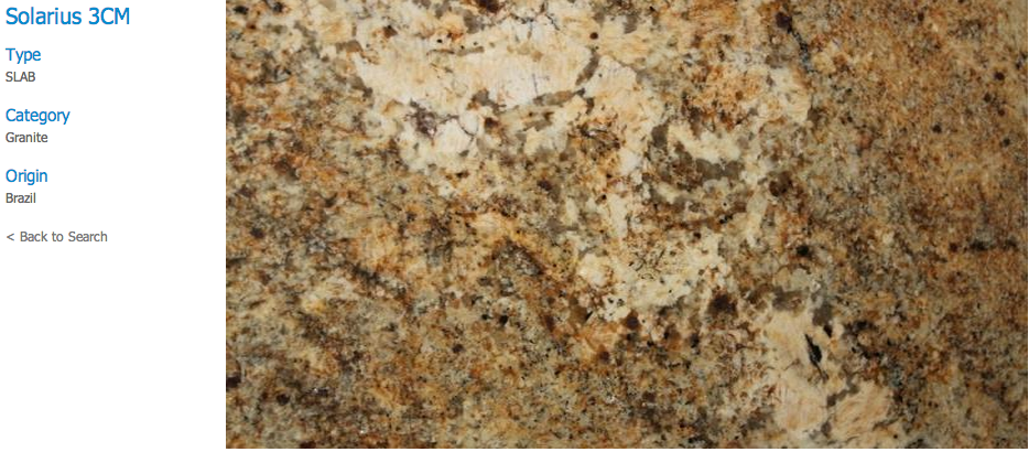 Granite Countertops, Kitchen Island, Bathroom Vanity solarius Granite Colors