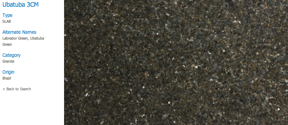 Granite Countertops, Kitchen Island, Bathroom Vanity ubatuba Granite Colors